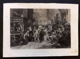 After Ward C1860 Art Journal Print. South Sea Bubble